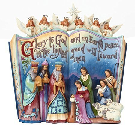 Nativity Storybook Disney Traditions di Jim Shore