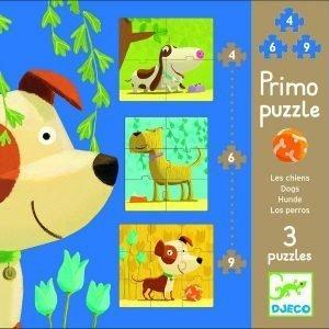 Primo Puzzle per bambini Djeco - Cani