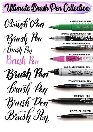 Tratti Brush Pen Hand Lettering