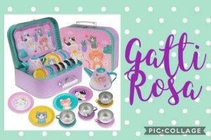 Giochi di ruolo per bambini - Jewelkeeper servizio da tè Gatti Rosa