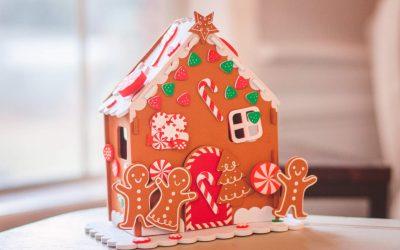 Applicazioni su tessuto con la Big Shot: centrotavola decorato con i Gingerbread